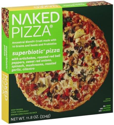 Naked Pizza Superbiotic Pizza - 11.8 oz