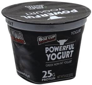 Powerful Yogurt Yogurt Greek Non-Fat, Plain