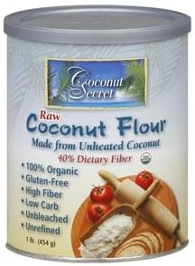 Coconut Secret Coconut Flour Raw
