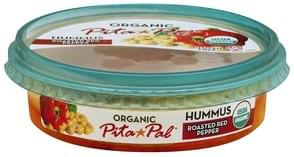 Pita Pal Hummus Organic, Roasted Red Pepper