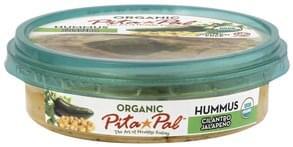 Pita Pal Hummus Organic, Cilantro Jalapeno
