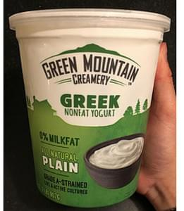 Green Mountain Creamery Plain Greek Yogurt