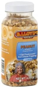 B Lloyds Ice Cream Topping Old Fashioned, Crunchy Peanut