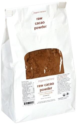 Organic Nectars Raw Cacao Powder - 16 oz