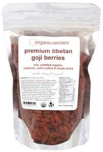 Organic Nectars Premium Tibetan Goji Berries