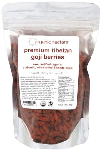 Organic Nectars Premium Tibetan Goji Berries - 1 ea