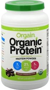 Orgain Protein Powder Creamy Chocolate Fudge