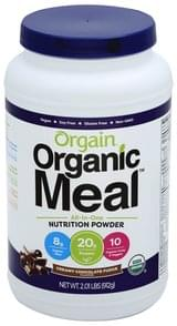Orgain Nutrition Powder Creamy Chocolate Fudge Flavor