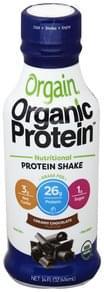 Orgain Protein Shake Nutritional, Creamy Chocolate Flavor