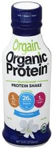 Orgain Protein Shake Nutritional, Vanilla Bean Flavor