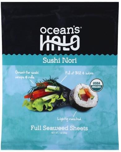Oceans Halo Full, Sushi Nori Seaweed