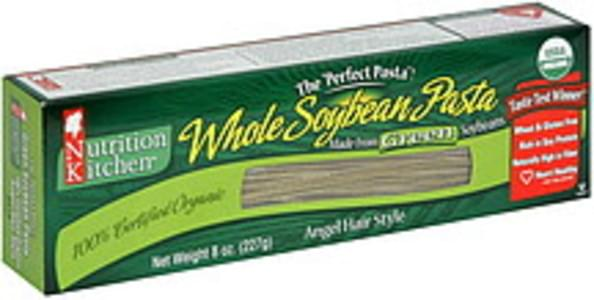 Nutrition Kitchen Whole Soybean Pasta Angel Hair Style