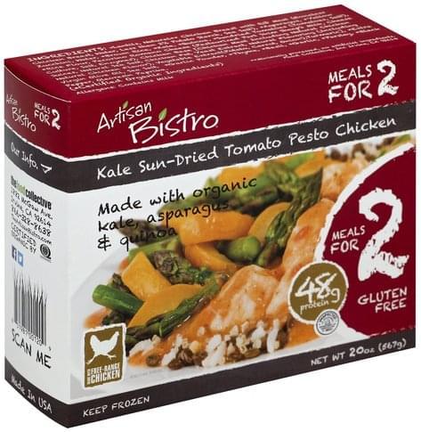 Artisan Bistro Kale Sun-Dried Tomato Pesto Chicken - 20 oz
