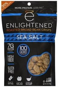 Enlightened Broad Bean Crisps Roasted, Sea Salt