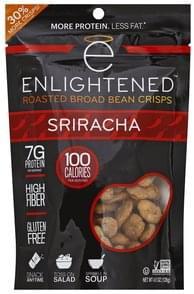 Enlightened Broad Bean Crisps Roasted, Sriracha
