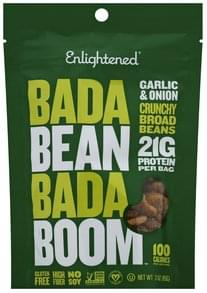 Enlightened Broad Beans Garlic & Onion, Crunchy