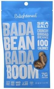 Enlightened Broad Beans Sea Salt, Crunchy