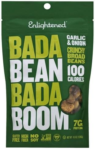 Enlightened Garlic & Onion, Crunchy Broad Beans - 4.5 oz