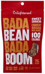 Enlightened Broad Beans Sweet Sriracha, Crunchy