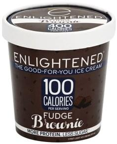 Enlightened Ice Cream Light, Fudge Brownie