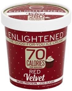Enlightened Ice Cream Low Fat, Red Velvet