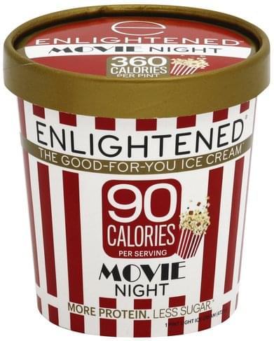 Enlightened Light, Movie Night Ice Cream - 1 pt