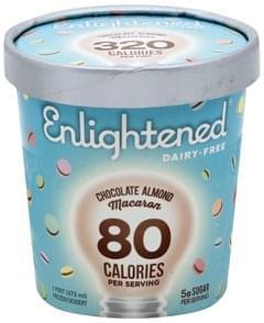 Enlightened Frozen Dessert Chocolate Almond Macaron