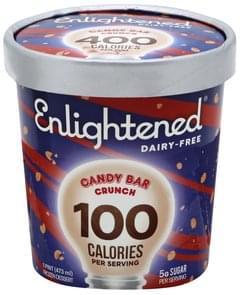 Enlightened Frozen Dessert Candy Bar Crunch