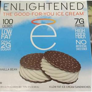 Enlightened Vanilla Bean Ice Cream Sandwich