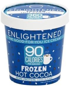Enlightened Ice Cream Low Fat, Frozen Hot Cocoa