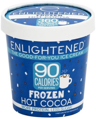 Enlightened Low Fat, Frozen Hot Cocoa Ice Cream - 1 pt