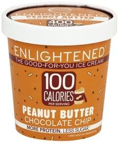 Enlightened Ice Cream Light, Peanut Butter Chocolate Chip