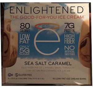 Enlightened Ice Cream Bar Sea Salt Caramel