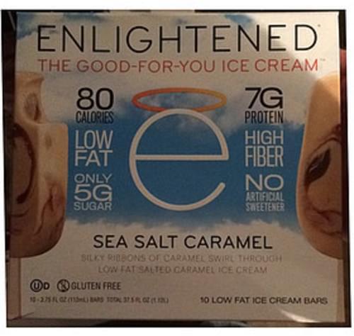 Enlightened Sea Salt Caramel Ice Cream Bar - 70 g