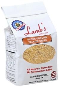 Lamb's Yellow Grits Stone Ground