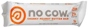 No Cow Peanut Butter Bar Bar, Chunky Peanut Butter