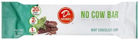 Ds Naturals Mint Chocolate Chip No Cow Bar - 2.14 oz