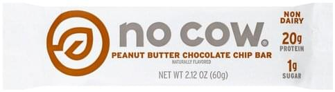 No Cow Peanut Butter Chocolate Chip Bar - 2.12 oz