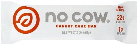 No Cow Carrot Cake Bar - 2.12 oz