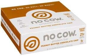 No Cow Protein Bar Peanut Butter Chocolate Chip
