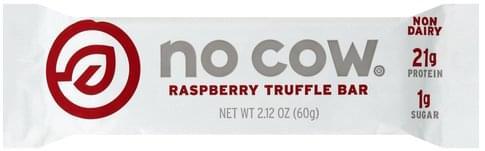 No Cow Truffle Raspberry Bar - 2.12 oz