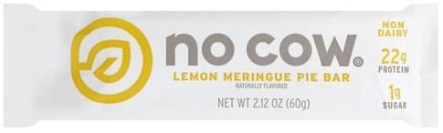 No Cow Lemon Meringue Pie Bar - 2.12 oz