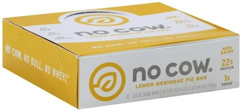No Cow Lemon Meringue Pie Bar - 12 ea