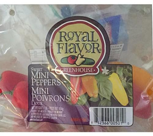 Royal Flavor Mini Peppers - 85 g