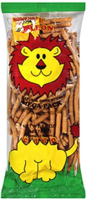 El Leoncito Natural Corn Sticks Churritos - 5 oz