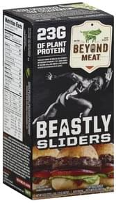 Beyond Meat Burger Patty Plant-Based, Beastly Sliders