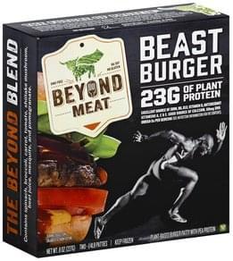 Beyond Meat Beast Burger Patties