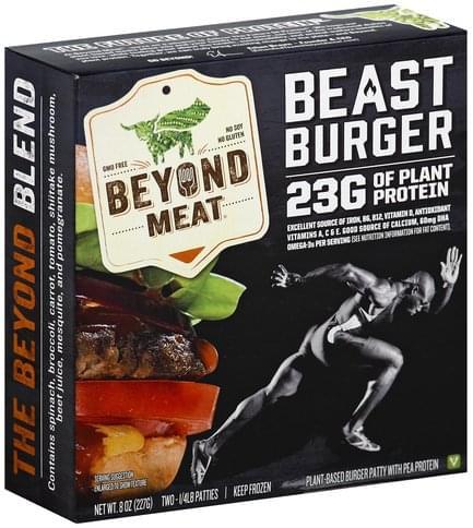 Beyond Meat Patties Beast Burger - 2 ea