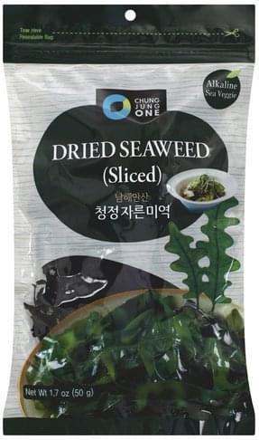 Chung Jung One Sliced Dried Seaweed - 1.7 oz