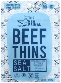 New Primal Beef Thins Sea Salt